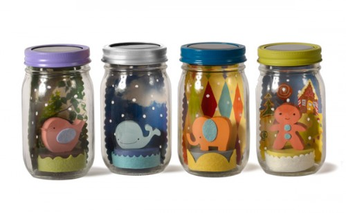 Baby Shower Gift Ideas - Mason Jar Lights