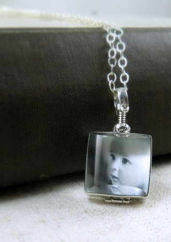 Baby Shower Gift Ideas - Glass Locket