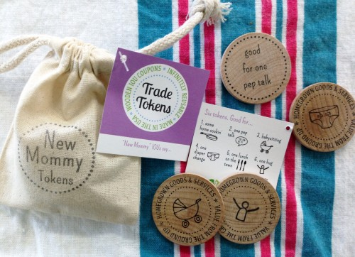 Baby Shower Gift Ideas - New Mommy Trade Tokens