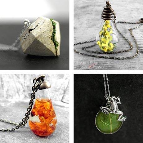 Handmade Etsy Necklaces: 19 Pieces Under $100