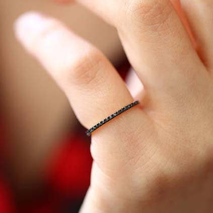 Tenth Wedding Anniversary - Black Diamonds