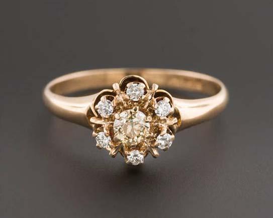 Tenth Wedding Anniversary - Vintage Diamonds
