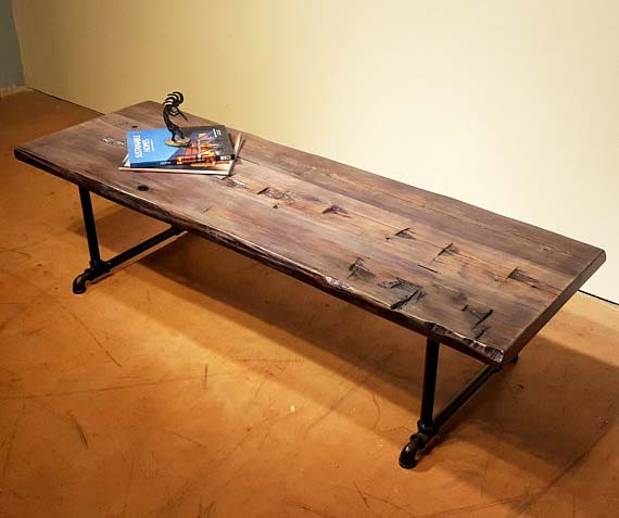 Reclaimed Wood Coffee Tables - Spoken Wood