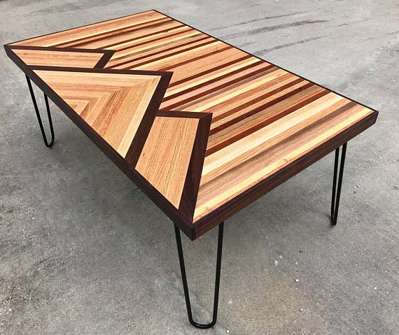 Reclaimed Wood Coffee Tables - Three Mountains