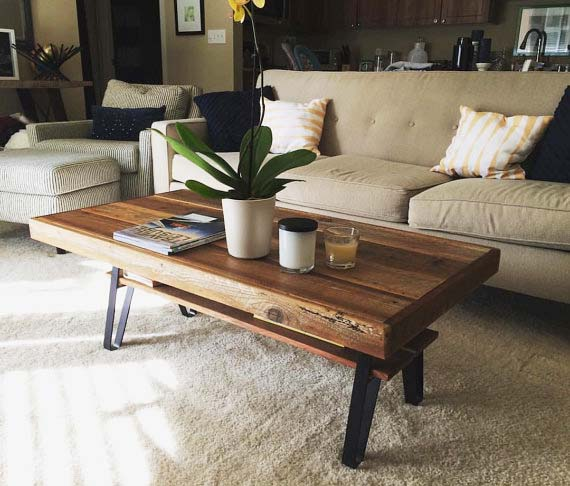 Reclaimed Wood Coffee Tables - Farmhouse