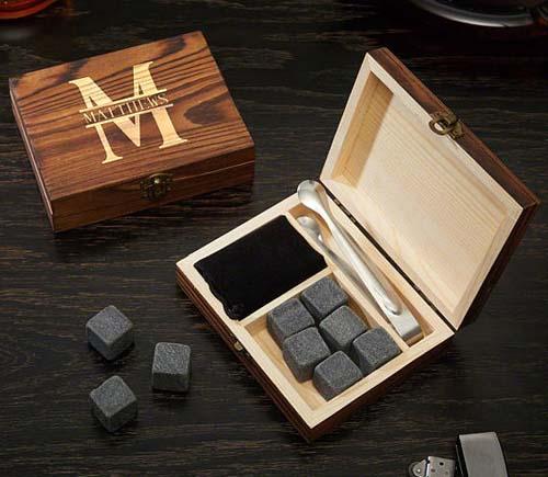 Gifts for Boss - Custom Whiskey Stones