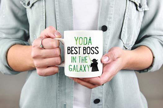 Gifts for Boss - Yoda Best Mug