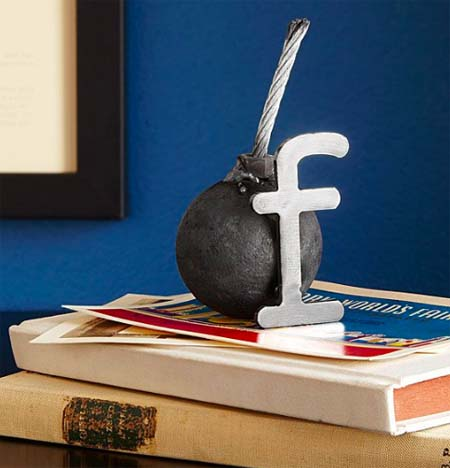 Gifts for Boss - F-Bomb Paperweight