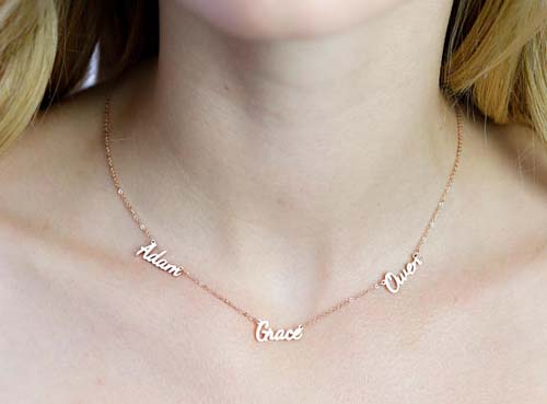 Name Necklace - Caitlyn Minimalist