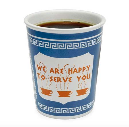 Gifts for Coffee Lovers - Ceramic Greek Cup