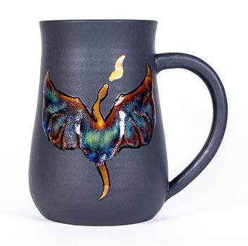 Handmade Coffee Mugs - Dragon Breath
