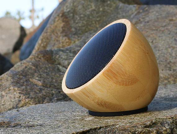 Creative Corporate Gifts - Bamboo Bluetooth Speaker
