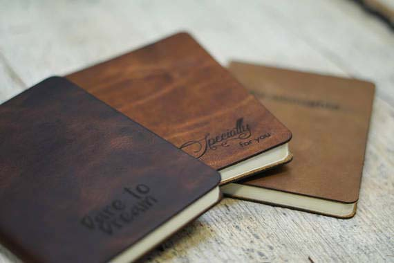 Creative Corporate Gifts - Leather Journal