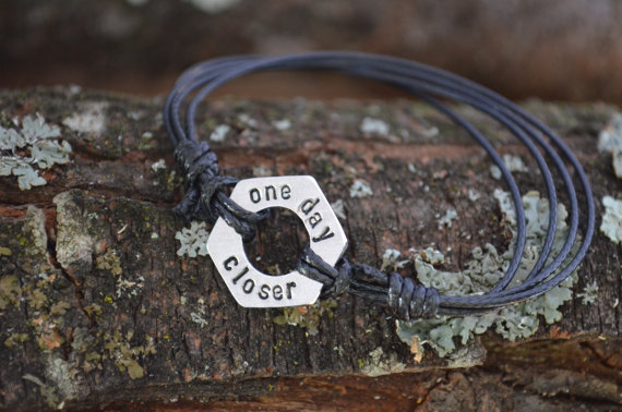 Long Distance Relationship Gifts - One Day Closer Bracelet