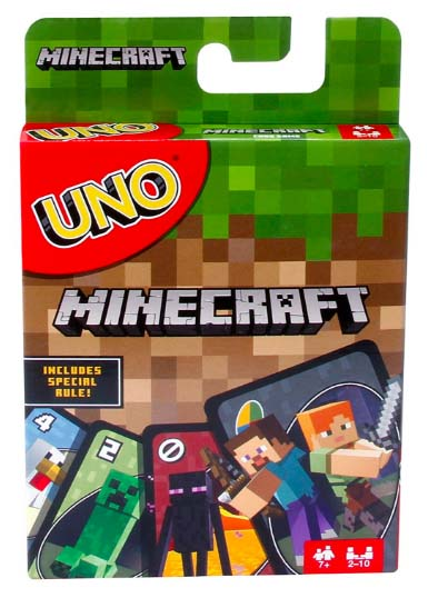 Minecraft Gifts - Uno!