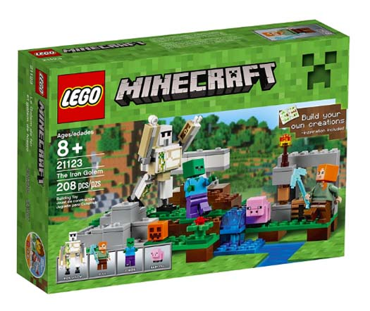 Best Minecraft Gifts - Legos The Iron Golem