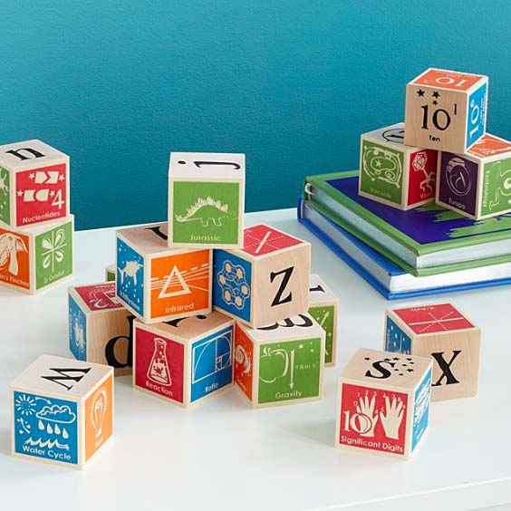 Nerdy ABC Blocks