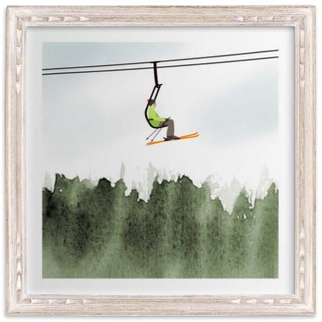 Kids Wall Art for Wannabe Skiers & Boarders