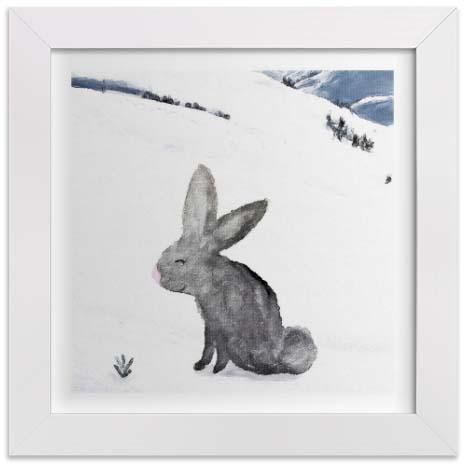 Kids Wall Art - Carrot & Hare