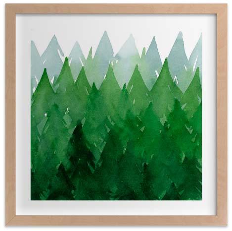 Kids Wall Art Prints - Forest