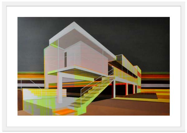 Contemporary Art Prints - Cap Moderne