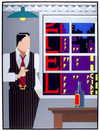Contemporary Art Prints - Traveling Salesman