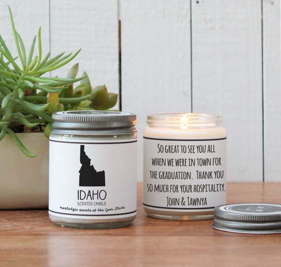 Gifts for Mom - State Scented Candle