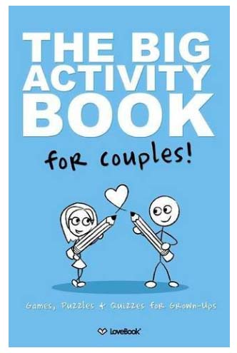 Long Distance Relationship Gifts - Big Activity Book for Couples
