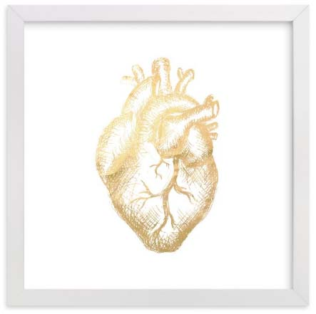 Long Distance Relationship Gifts - Heart of Gold