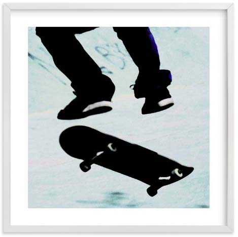 Nursery Wall Art - Skate