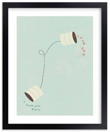 Long Distance Relationship Gifts - Canned Love Print
