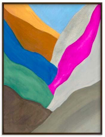 Natural World Art Prints - Mountain Seam