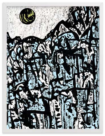 Natural World Art Prints - Moonrise