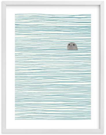 Natural World Art Prints - Seal