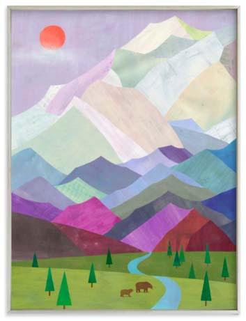 National Park Art Prints - Denali