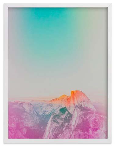 National Park Art Prints - Phosphorescent V