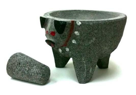 Gifts for Avocado Lovers - Lava Rock Molcajete