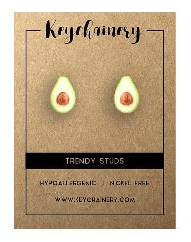 Gifts for Avocado Lovers - Stud Earrings