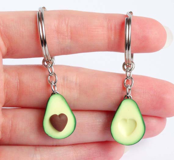 Gifts for Avocado Lovers - Keychain Set
