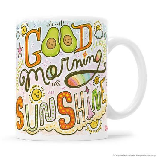 Gifts for Avocado Lovers - Sunshine Mug