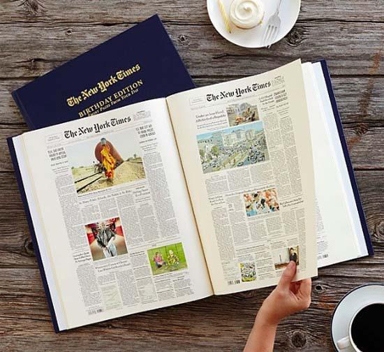 Gifts for Grandma and Grandpa - NYTimes Birthday Book