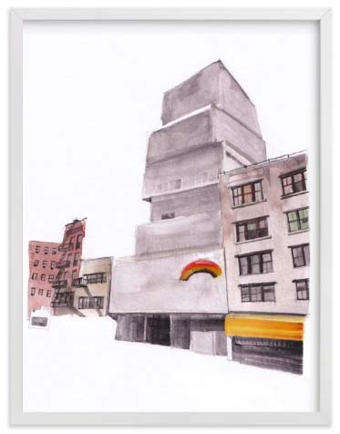 NYC Wall Art Prints - New York Street