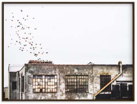 NYC Wall Art Prints - Brooklyn Warehouse