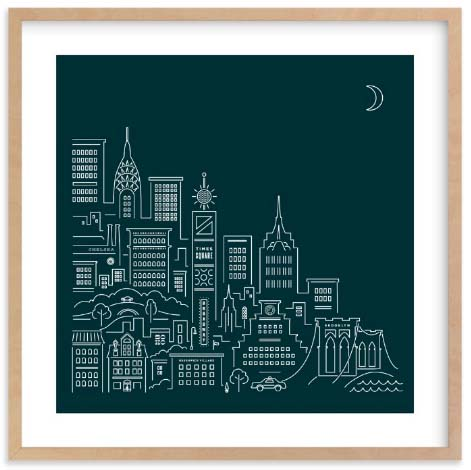 NYC Wall Art Prints - Goodnight New York