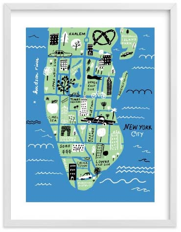 NYC Wall Art Prints - I Love New York
