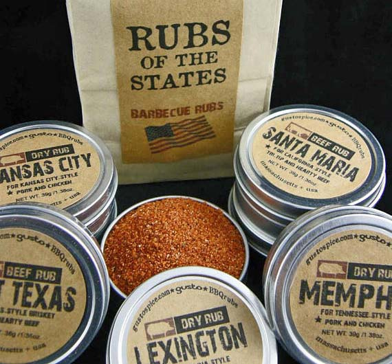 Get Well Soon Gifts for Men - Grilling Rubs