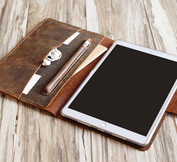 3rd Anniversary Gifts - Leather iPad Case