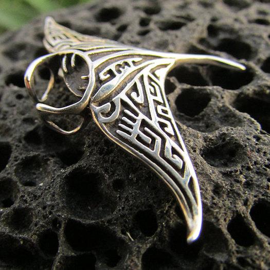 Hawaiian Gifts - Manta Ray Necklace