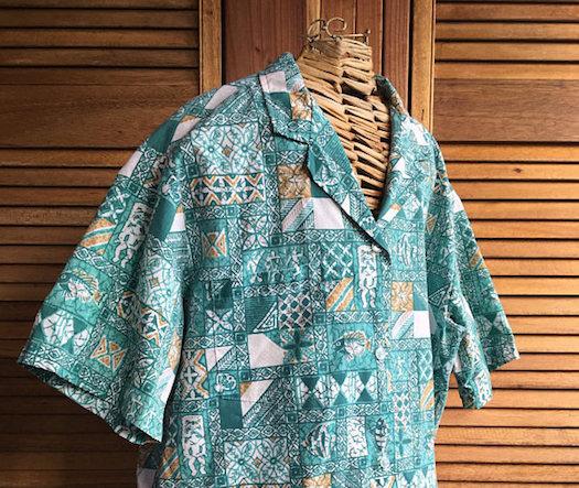 Hawaiian Gifts - Vintage Men's Shirt