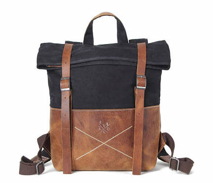 3rd Anniversary Gifts - Leather Backpack